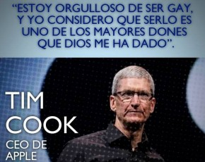 "Tim Cook,director ejecutivo de Apple: ""Estoy orgulloso de ser gay"""